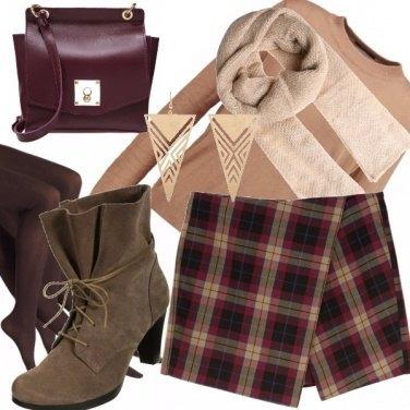 Outfit Tartan shorts