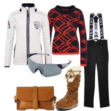 Outfit Sui campi da sci