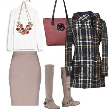 Outfit Caban