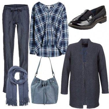 Outfit Camicia tartan