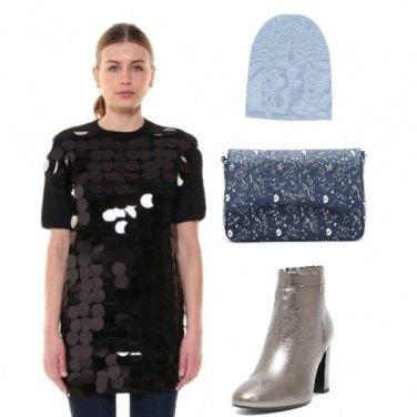 Outfit Silver&Paillettes