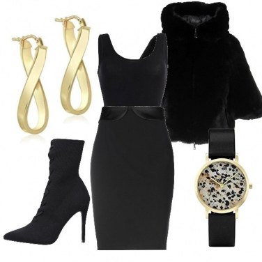 Outfit Minimal Black