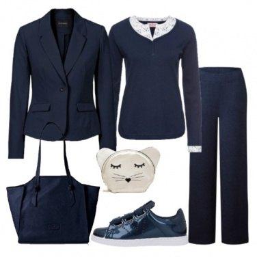 Outfit Se ami il blu