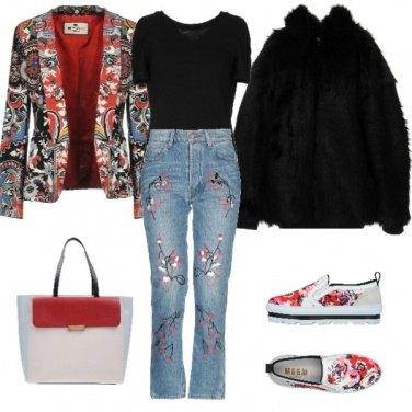 Outfit Giacca Fantasia