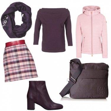 Outfit Violet & Rose...