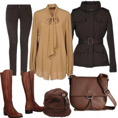 Outfit Camicia con fiocco 4:casual