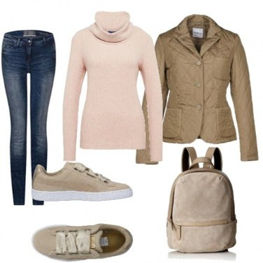 Outfit Dolcevita casual