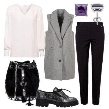 Outfit Gilet per un caffè