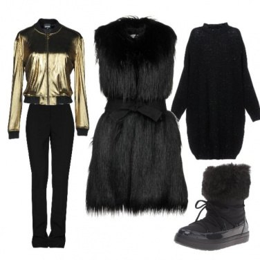 Outfit Charme sulla neve