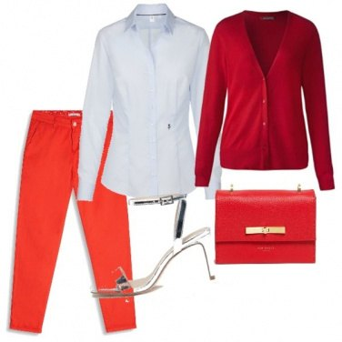 Outfit Red style