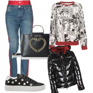 Outfit Rosso diva