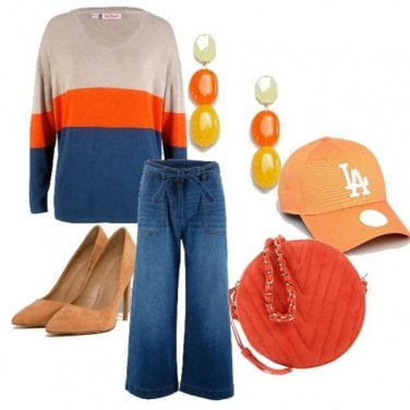 Outfit Outfits solare/arcobaleno