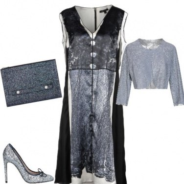 Outfit Capodanno in pelle
