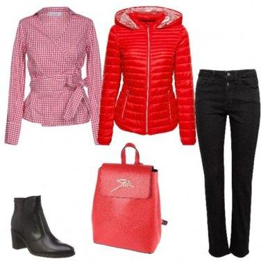Outfit Quando il rosso non può mancare!