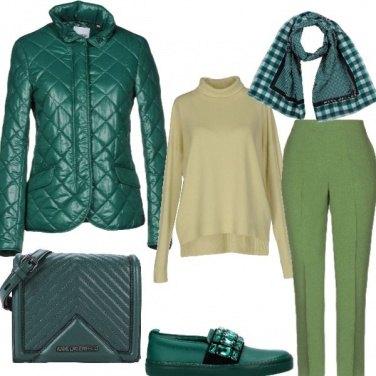 Outfit Verde per l'ambiente