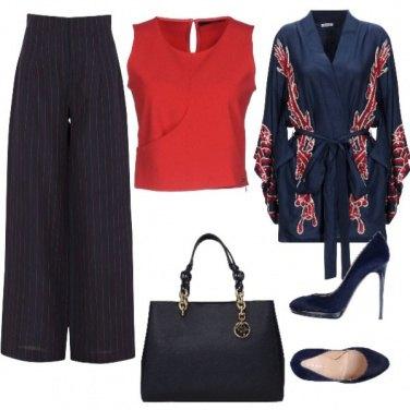 Outfit Cardigan orientale