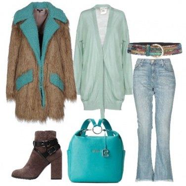 Outfit Trendy con l\'ecofur