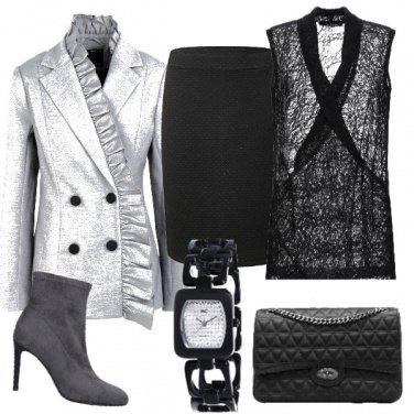 Outfit Un grigio riccio
