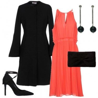 Outfit L'abito corallo