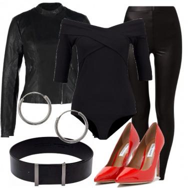 Outfit Carnevale con brillantina
