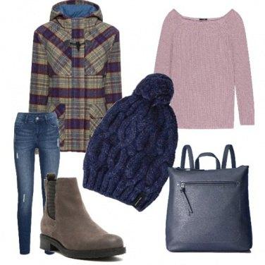 Outfit Passeggiata invernale nella natura