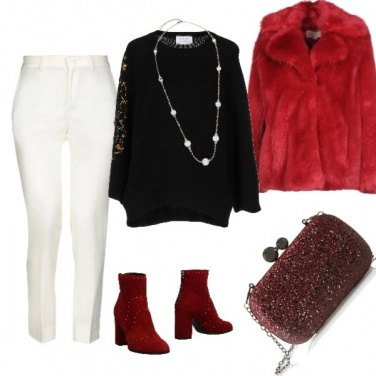 Outfit In montagna chic