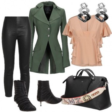 Outfit Giacca verde militare