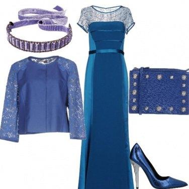 Outfit Capodanno in azzurro x il Pesci