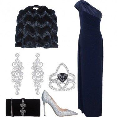 Outfit Capodanno in Blu