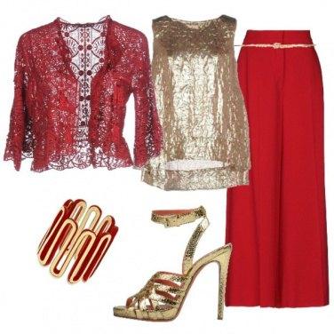 Outfit Il rosso.....fa sera