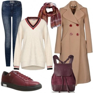 Outfit Cappotto cammello 3: Street style