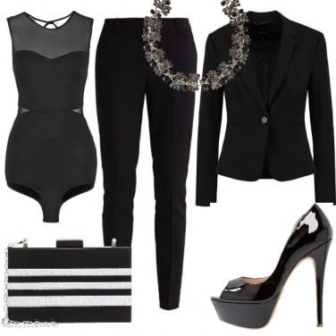 Outfit Completo nero