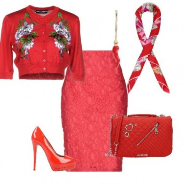 Outfit All in red
