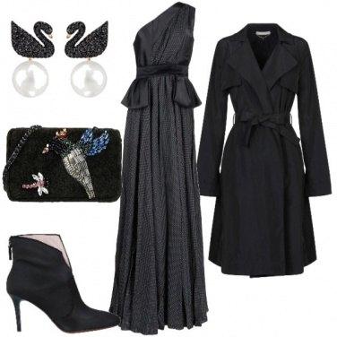 Outfit Vestita a festa