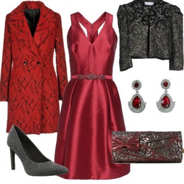 Outfit Rosso passione