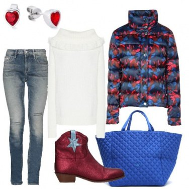 Outfit Il texano rosso