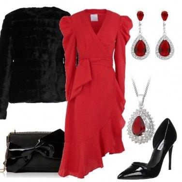 Outfit Rosso e nero protagonisti