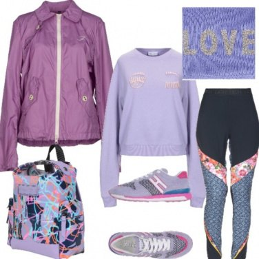 Outfit Fitness in piazza x ACQUARIO