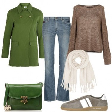 Outfit Cappotto verde