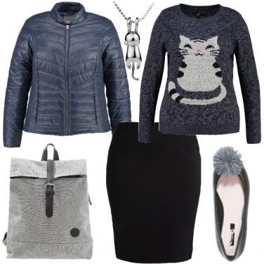 Outfit La collana con il gattino