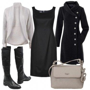 Outfit Il tubino nero 3: casual