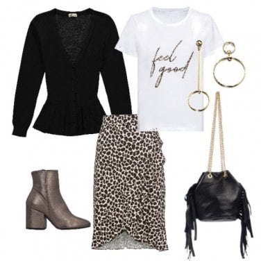 Outfit Animalier low cost per te