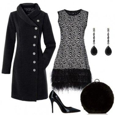 Outfit Come una piuma