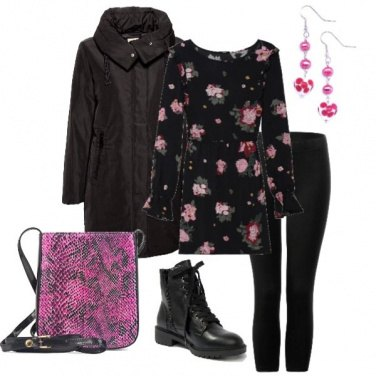 Outfit Urban in rosa