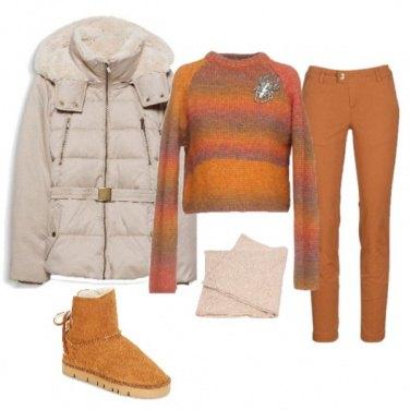 Outfit Temperature fredde colori caldi