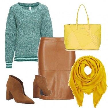 Outfit Giallo.