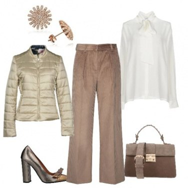 Outfit Pantaloni di velluto