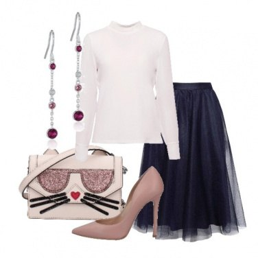 Outfit Gonna in tulle