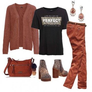 Outfit Perfetti toni caldi
