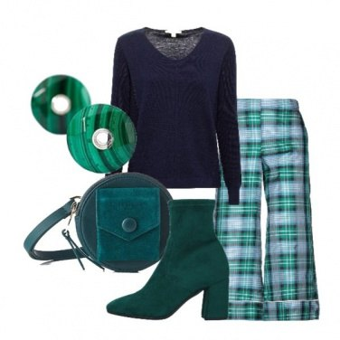 Outfit Scelgo le sfumature in verde